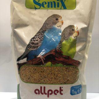 Alimenti Per Uccelli - Boccia Miscela Semi Per Cocorite Kg. 1