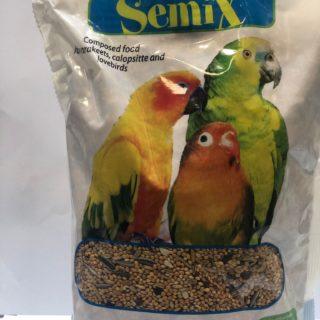 Alimenti Per Uccelli - Boccia Miscela Semi Per Inseparabili - Parrocchetti - Calopsitte Kg. 1