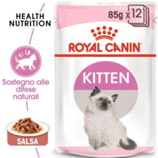 Alimento Umido Gatto – Royal Canin Kitten in jelly gr.0.85