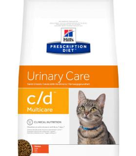 Alimento Secco Gatto - Hill's PRESCRIPTION DIET Urinary Care C/D Pollo Kg.1.5