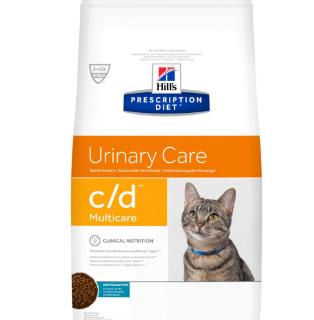 Alimento Secco Gatto - Hill's PRESCRIPTION DIET Urinary Care C/D Pesci Oceanici Kg.1.5
