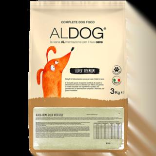 Alimento Secco Cane -Aldog Medium Duck (Anatra) with Rice Kg.3