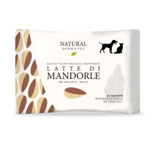 Igiene - Cura - Bellezza - Cane & Gatto - Derbe Salviette Latte Di Mandorle
