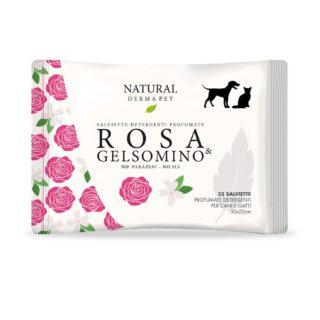 Igiene - Cura - Bellezza - Cane & Gatto - Derbe Salviette Rosa & Gelsomino