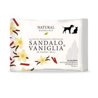 Igiene - Cura - Bellezza - Cane - Derbe Salviette Sandalo & Vaniglia