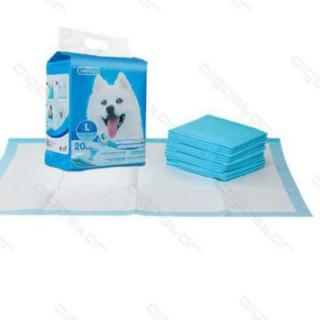Igiene - Cura - Bellezza - Cane Tappetini Assorbenti Con Adesivi cm. 60X 90 Confezione pezzi 10