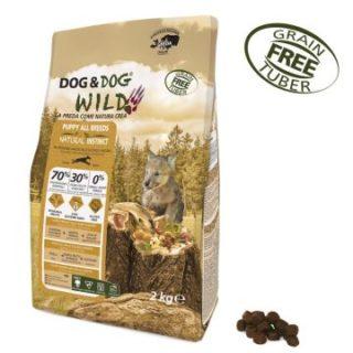 Alimento Secco Cane Dog&Dog WILD – Puppy all breeds – Natural Instinct kg.2