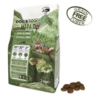 Alimento Secco Cane Dog&Dog WILD – Adult all breeds – Regional Forest | Secco kg.2