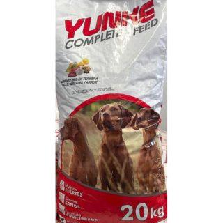 crocchette-per-cane-paskidog-yunke-alimento-completo-al-vitello-sacco-da-20-kg