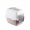 stefanplast-toilette-chiusa-per-gatti-cathy-comfort-bianco-cipria